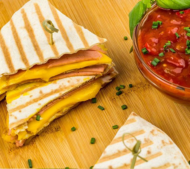 Food service - Vegetarian & vegan cheese alternative