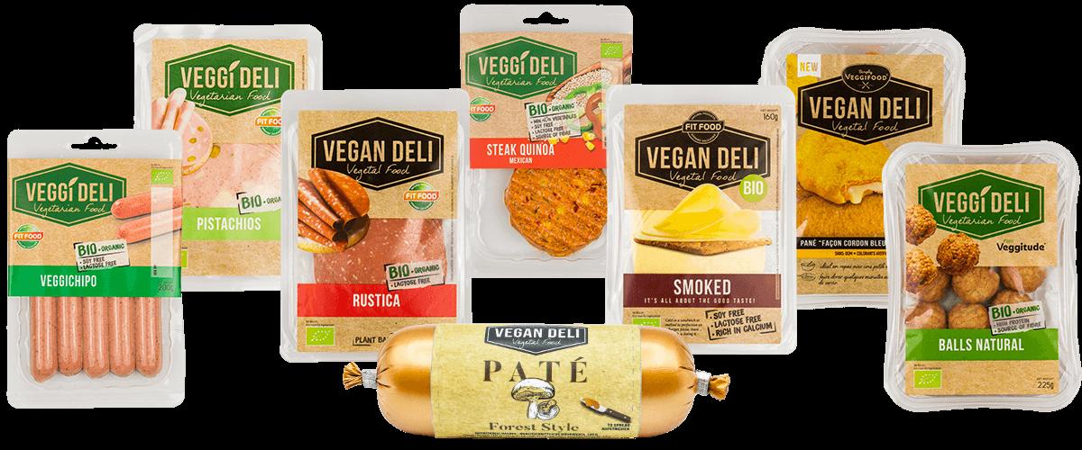 Meet the family - Vegetarian & Vegan products