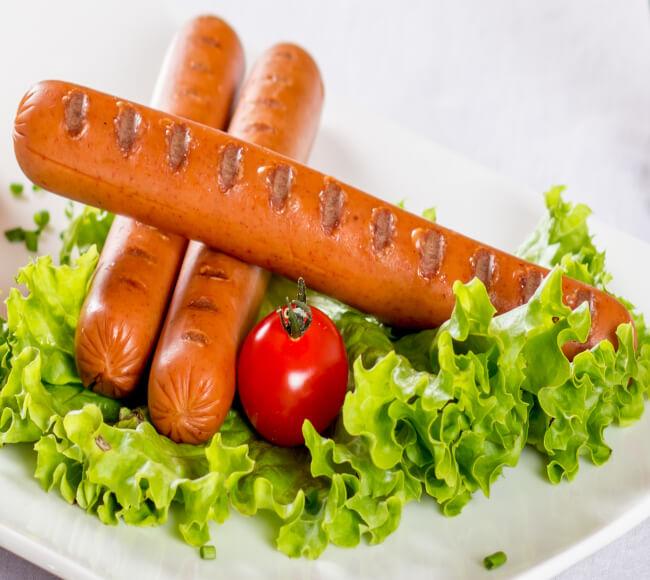 Vegetarian & Vegan sausages