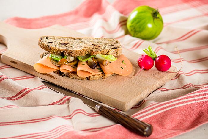 Veggi Deli Natural slices