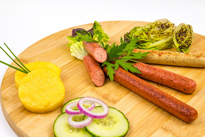 Veggi Deli VeggiBarbecue sausages